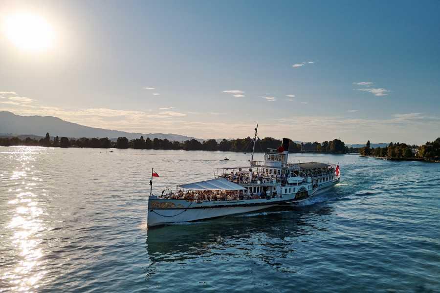 BLS Schifffahrt B2C Flottenparade Thunersee - DS Blümlisalp - inkl. Essen