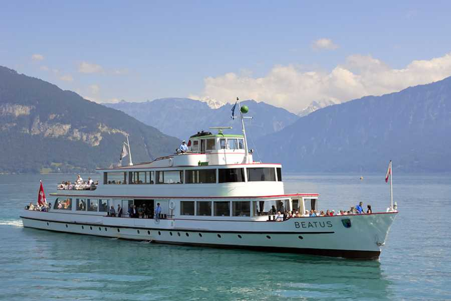 BLS AG, Schifffahrt Parade on Lake Thun - MS Beatus - incl. meal