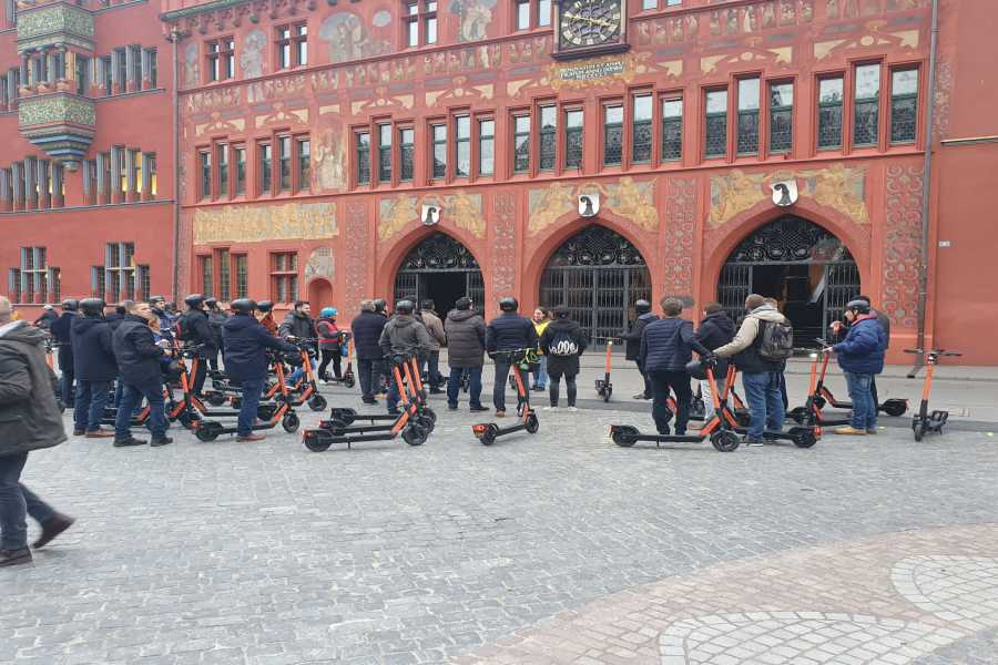 "Scooter Tours E-Scooter Tour ""Best of Basel"""