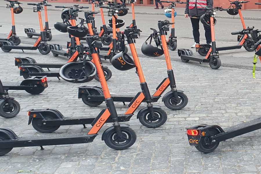 Scooter Tours E-Scooter Vermietung