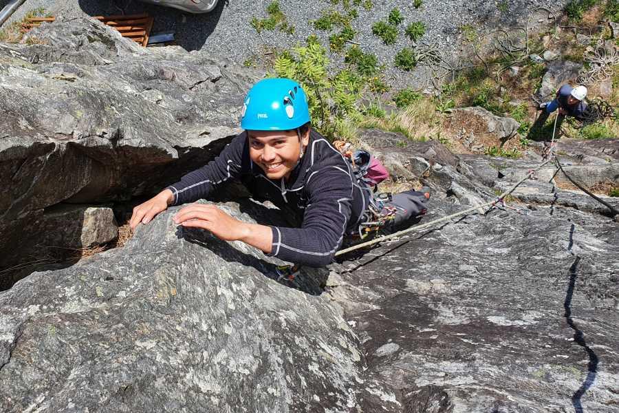 Øystein Ormåsen Introduksjonskurs i klatring