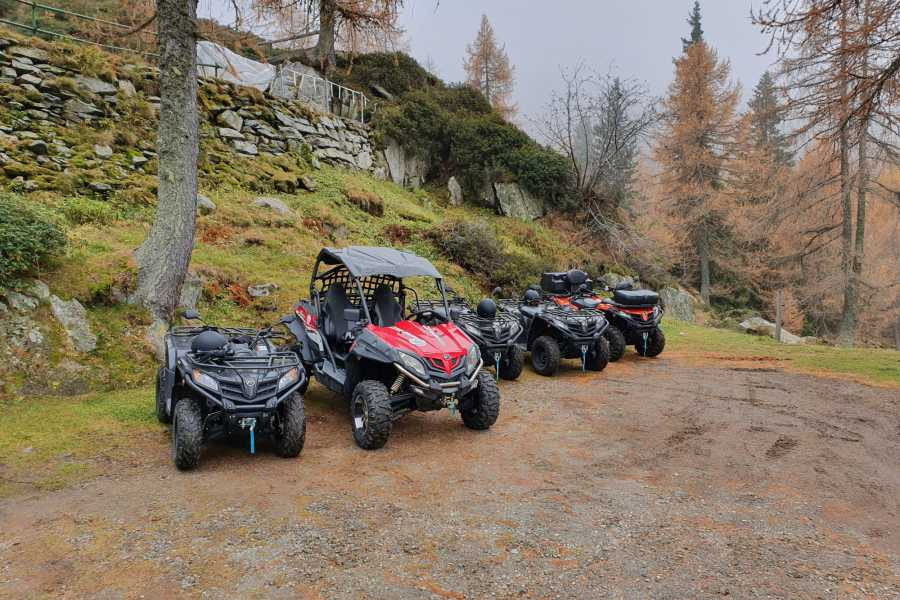 BuggyPark by HB-Adventure Switzerland Guided Tour with Quads exploring the Ticino