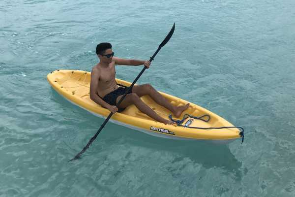 1 Hour rental Kayak