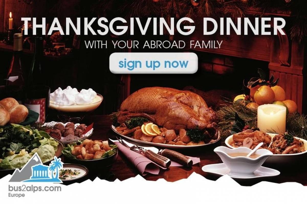 Bus2Alps AG Interlaken Thanksgiving Dinner