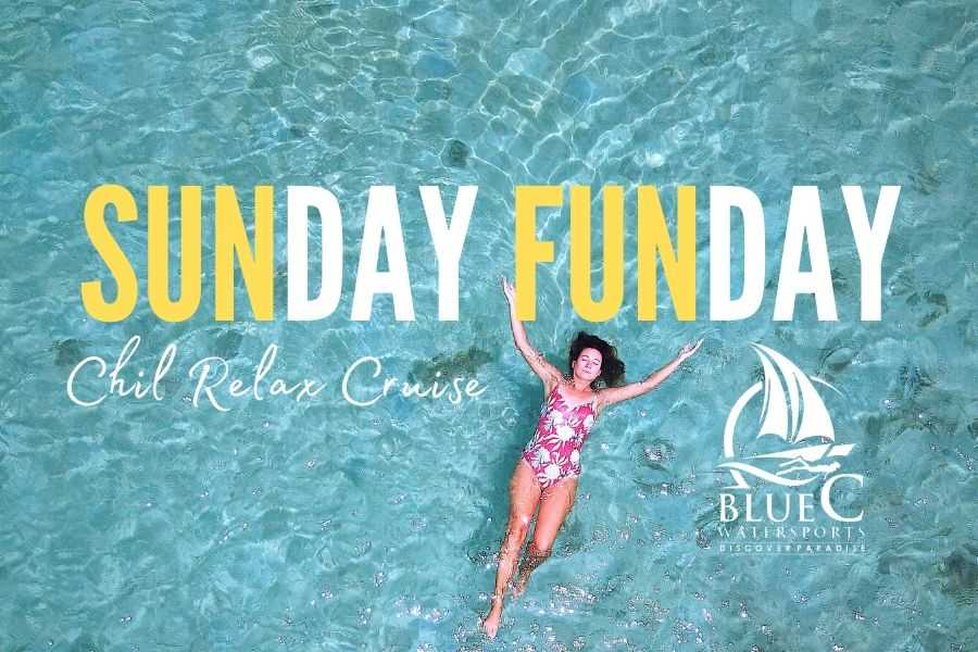 Blue C Watersports Sunday Fun Day Cruise (Blue Bay Beach)