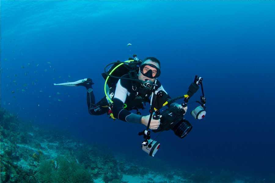 Coral divers PADI Digital Underwater Photographer