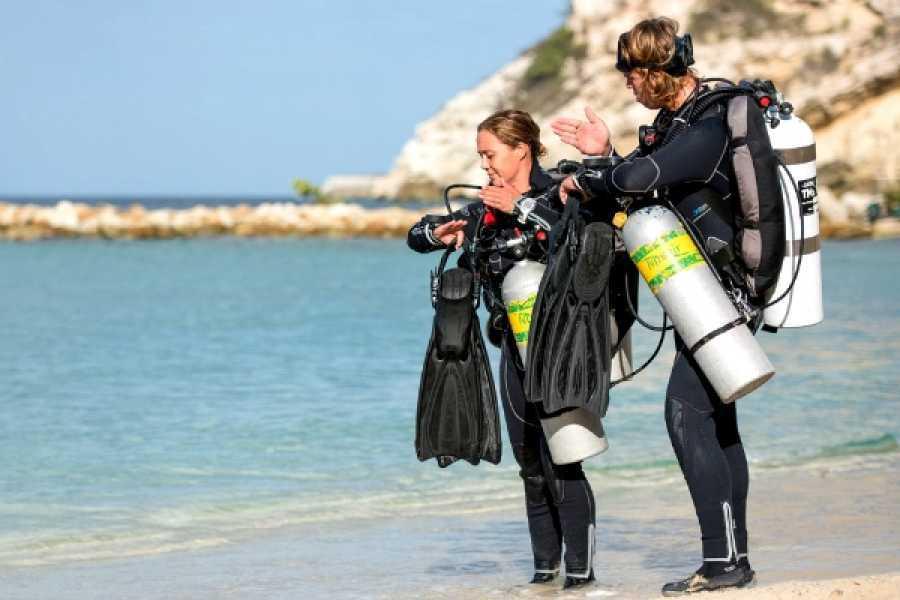 Coral divers PADI SideMount