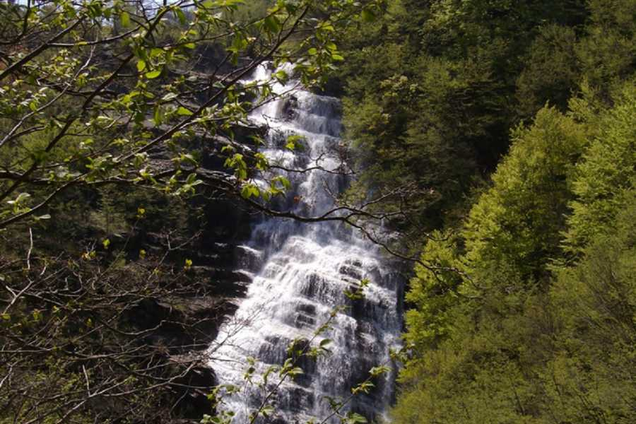 Emilia Romagna Welcome Hike to the Waterfalls of Acquacheta