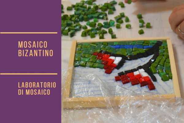 Mosaic workshop in Ravenna