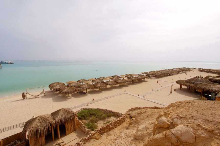 Excursies Egypte Orange bay island snorkeling trip from El Gouna