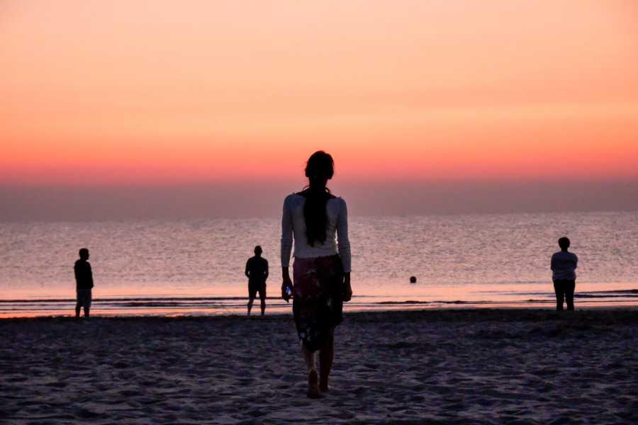 Visit Rimini A dawn...in pink