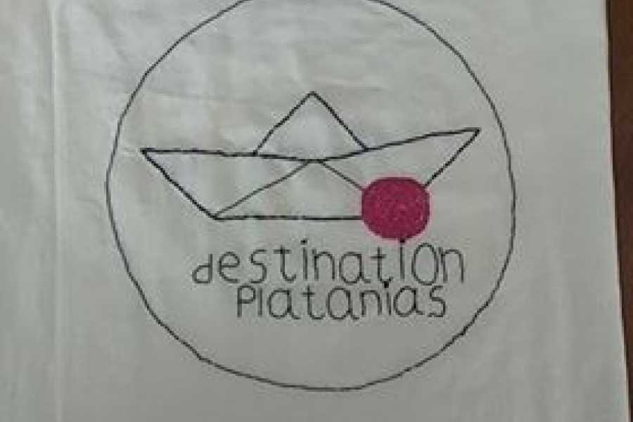Destination Platanias SHOPPING BAG