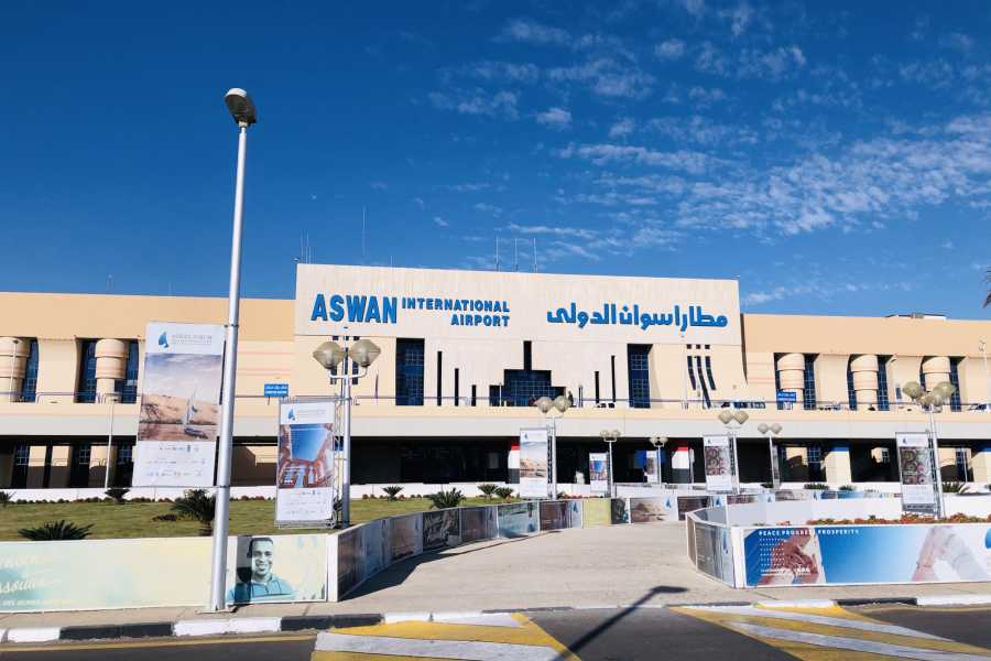 Journey To Egypt Aswan Airport Private Departure