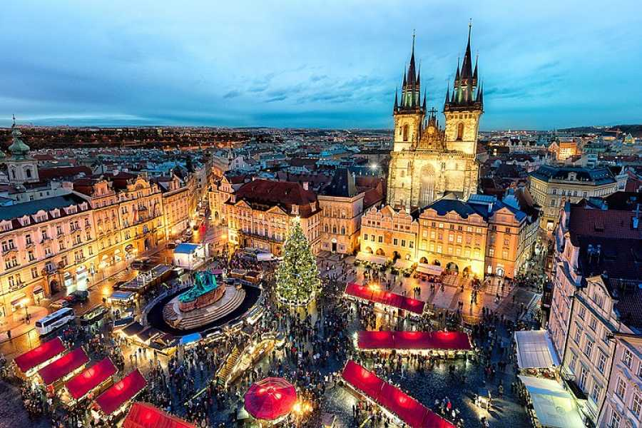 Bus2Alps AG Prague Christmas Markets