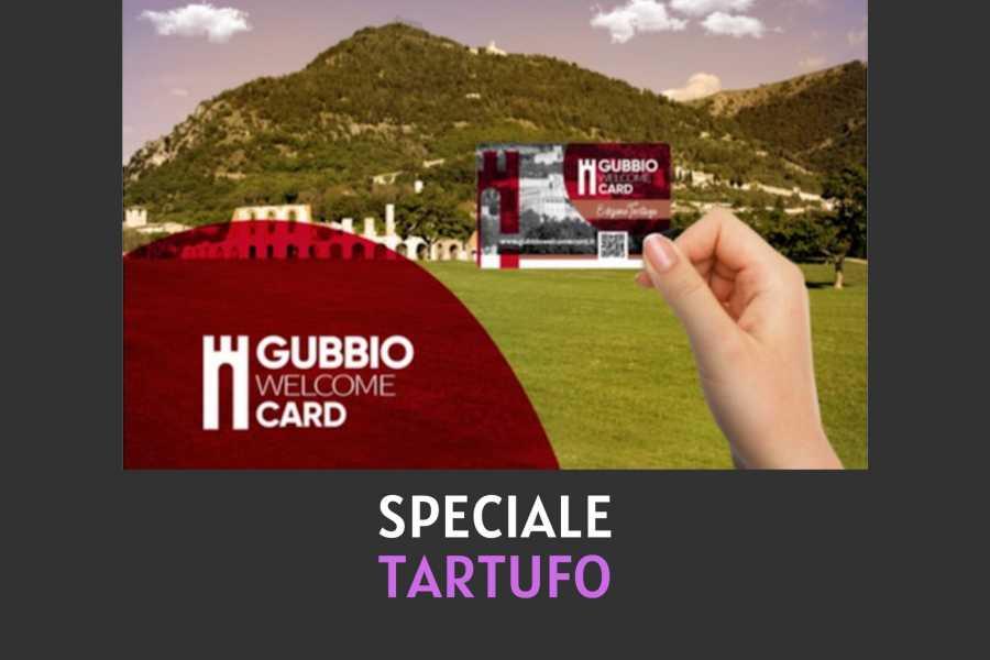 UmbriaMarche Gubbio Welcome Card - Speciale Tartufo