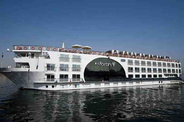 5 days 4 nights Farah Nile Cruise from Luxor to Aswan with included sightseen