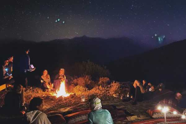 Hike, Camp at 1770m, & Yoga for Hikers (Fri/Sat - 30/31 Oct)