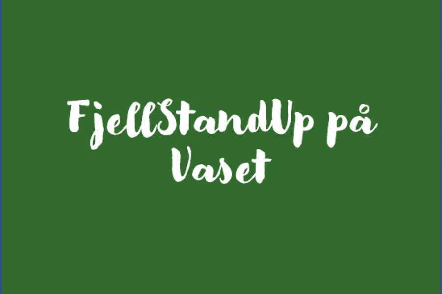 Velkommen til Vaset FjellStandUp med Nils-Ingar Aadne