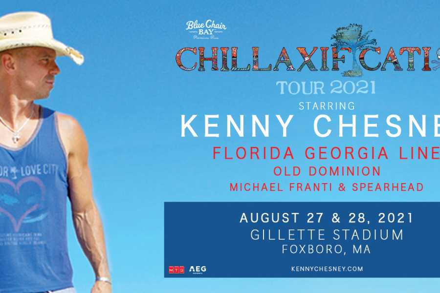 Dream Vacation Tours KENNY CHESNEY, FLORIDA GEORGIA LINE, OLD DOMINION & MORE
