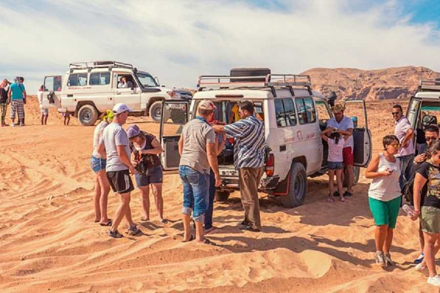 El Gouna Tours Sunset Desert Safari Excursion By Quad Bike Marsaalam