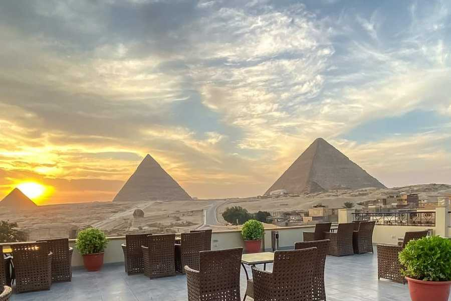 EMO TOURS EGYPT 1 Hour ATV at Giza Pyramids with breakfast at pyramids view restaurant
