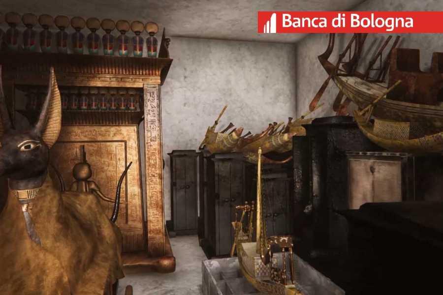 Bologna Welcome - Macchina del Tempo TUTANKHAMON - Tour virtuale dedicato ai Soci Banca di Bologna