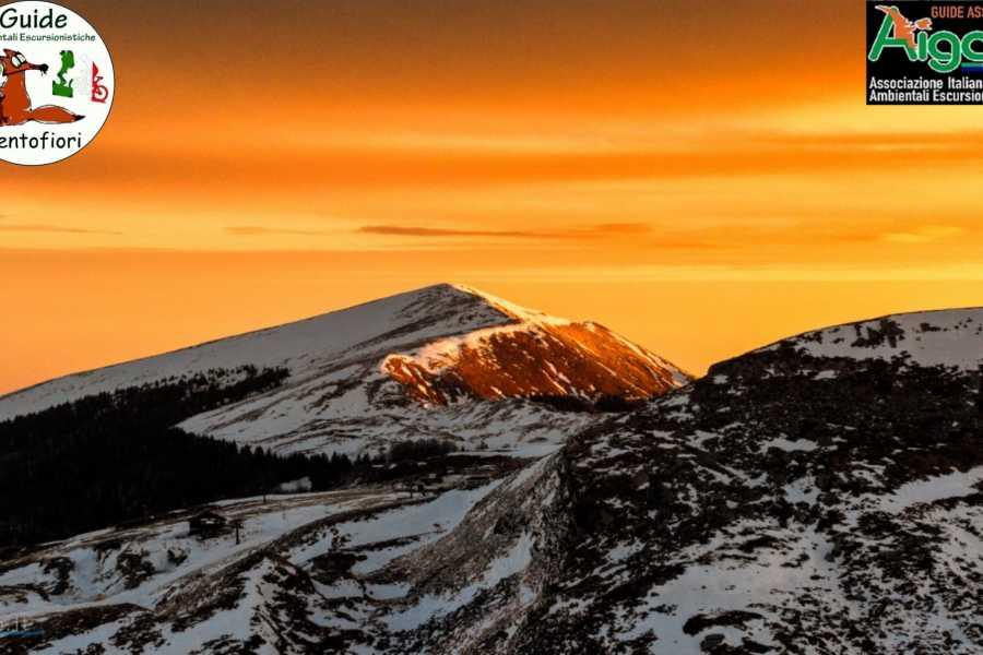 Modenatur Ciaspolata al tramonto al Lago Scaffaiolo