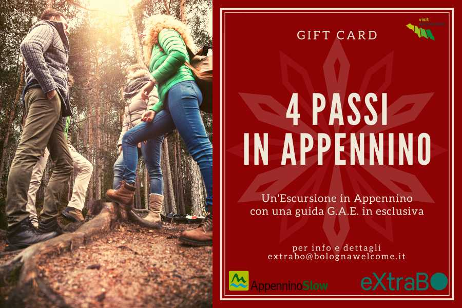 Bologna Welcome - eXtraBo Gift Card – 4 Passi in Appennino