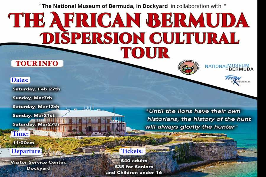 Titan Express Dockyard African Bermuda Dispersion Cultural Tour