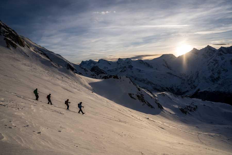 Saas-Fee Guides Sunset Lagginjoch