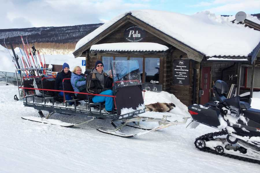 Puls Camp Åre Slädturen - Sightseeing på Åresjön (2h)