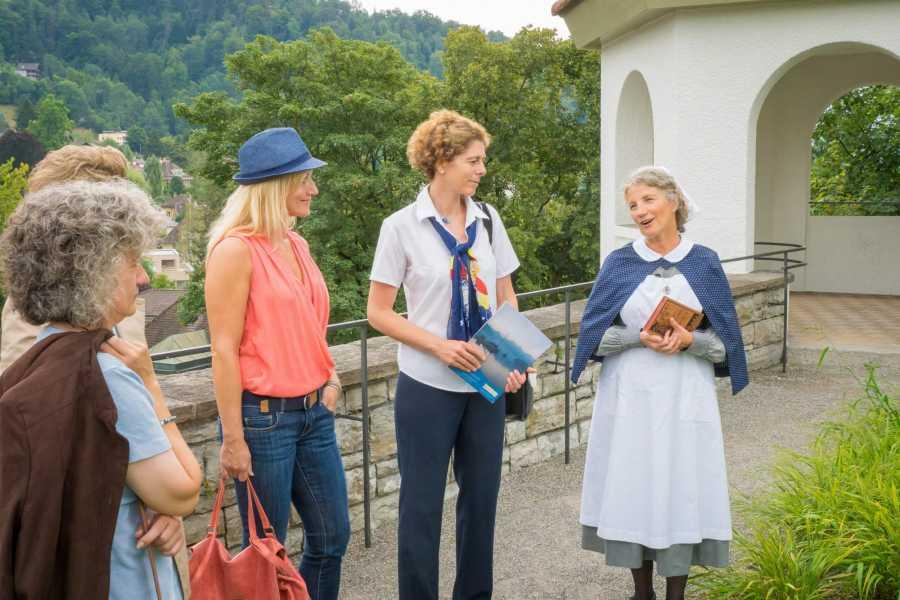 Thun-Thunersee Tourismus Stadtführung «Männerräume-Frauenträume»