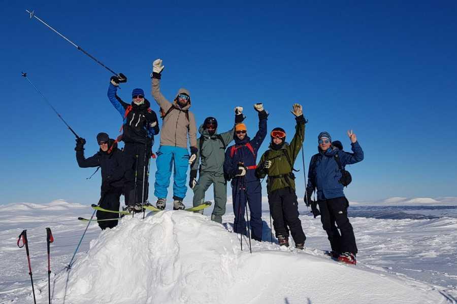 Puls Camp Åre Skoterskiing - 2 äventyr i ett