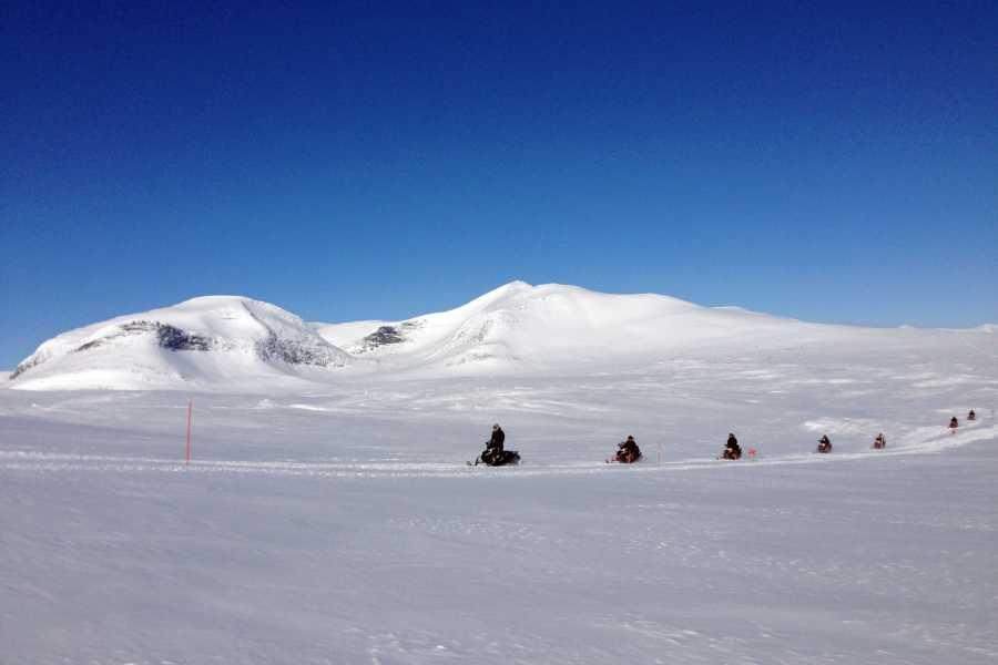 Puls Camp Åre Fjällturen snöskotertur (2h)
