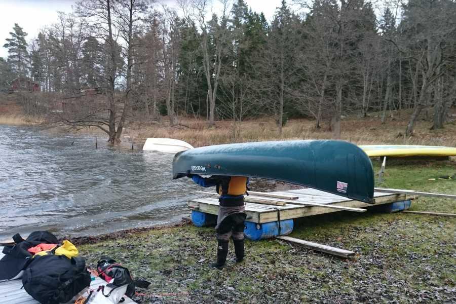 Horisont Kajak CANADENSARE MOT GRÖNT PADDELPASS