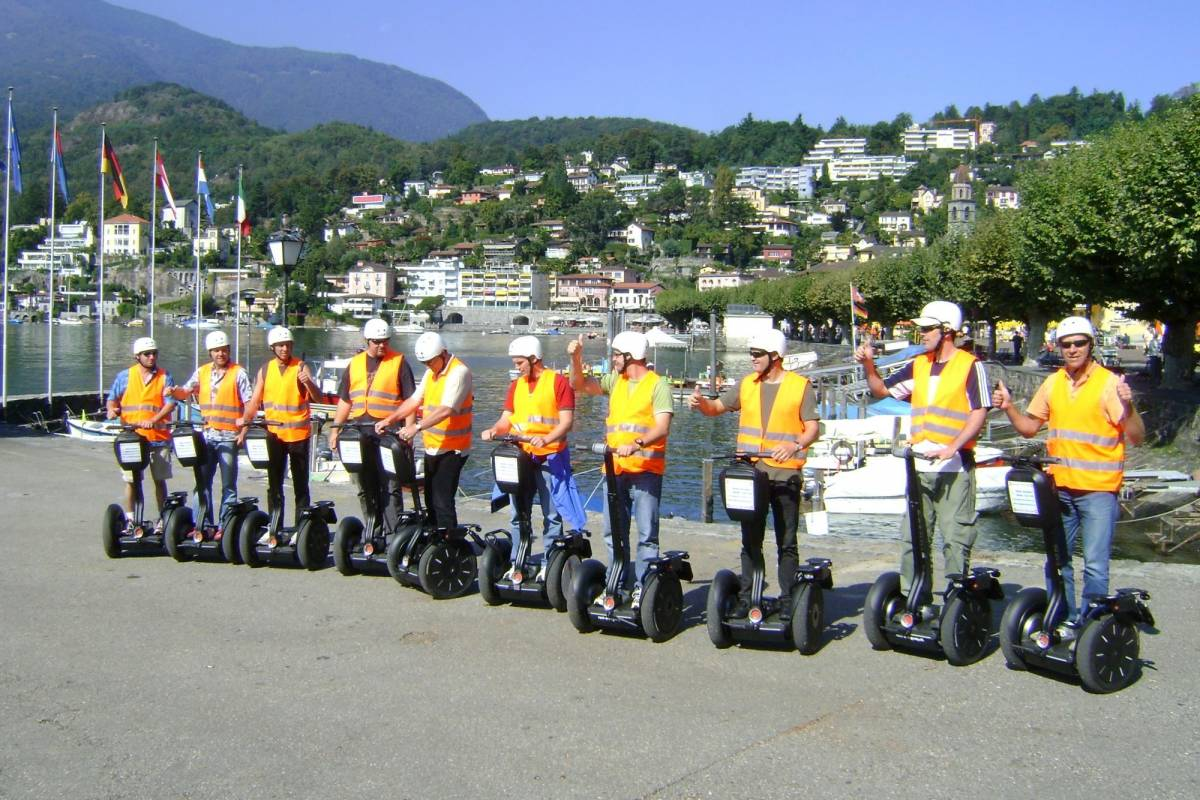 Segway City Tours Segway Public Tour Ticino - Ascona, Locarno, Losone