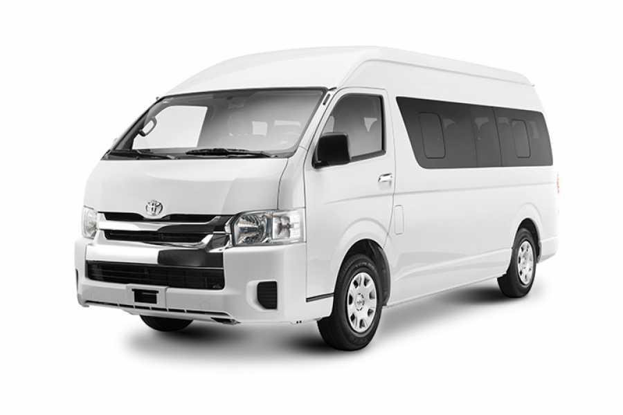 Tour Guanacaste Toyota Hiace 16 Seat Economy Van Rental