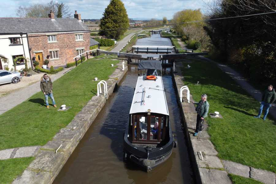 Lancashire Canal Cruises Two Hour Private Charter with Skipper for up to 12 people