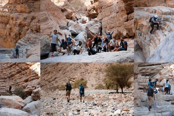 Adventurati Outdoor White Wadi Hike & Boulder Hopping - Saturday 17 April
