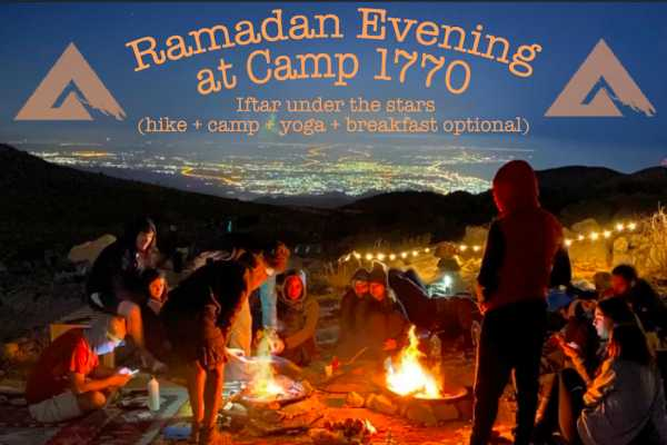 Adventurati Outdoor Ramadan Iftar at the Highest Camp in UAE - 7 May