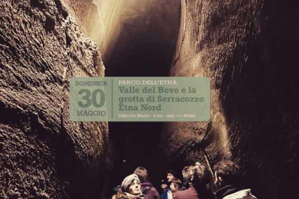 30 mag. 2021 – Escursione Valle del Bove e Grotta di Serracozzo, Etna Nord