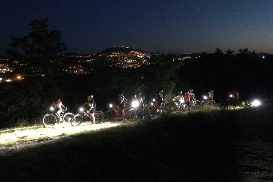 VisitRimini Bike Tour - Night on the hill