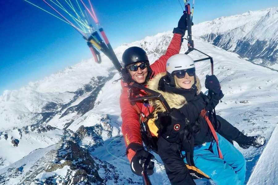 Paragliding Engadin GmbH Diavolezza Glacier Glide