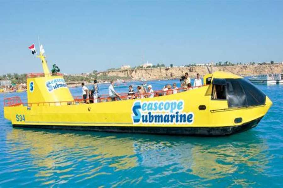 Daily tours Egypt Semi Submarine Excursion In Port ghalib Egypt red sea