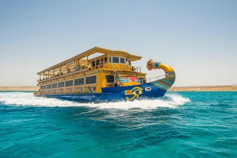 Daily tours Egypt Nefertari Seascope boat from Port Ghalib with dinner