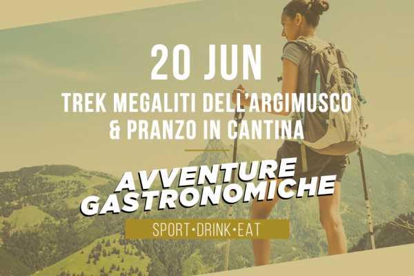 20 giu 2021 - Megaliti dell'Argimusco e Pranzo in Cantina - Avventure Gastronomiche