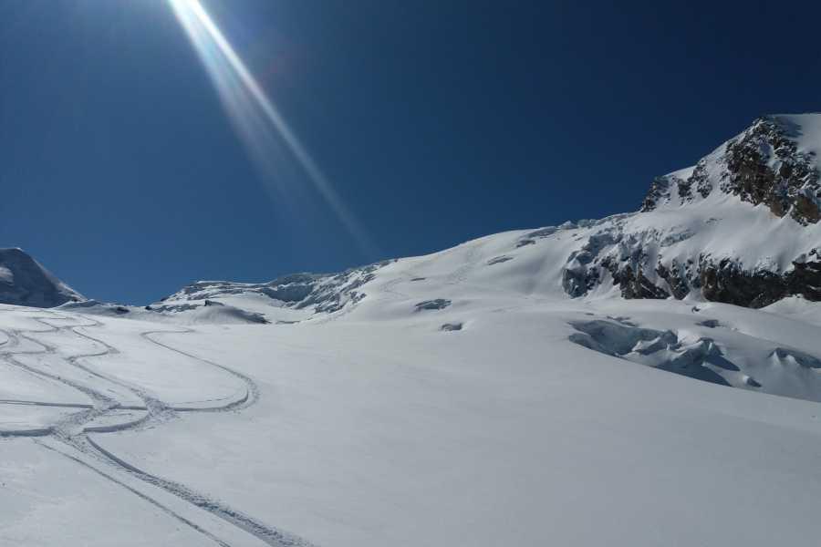 Saas-Fee Guides Heli-Skitour Alphubel 4206m