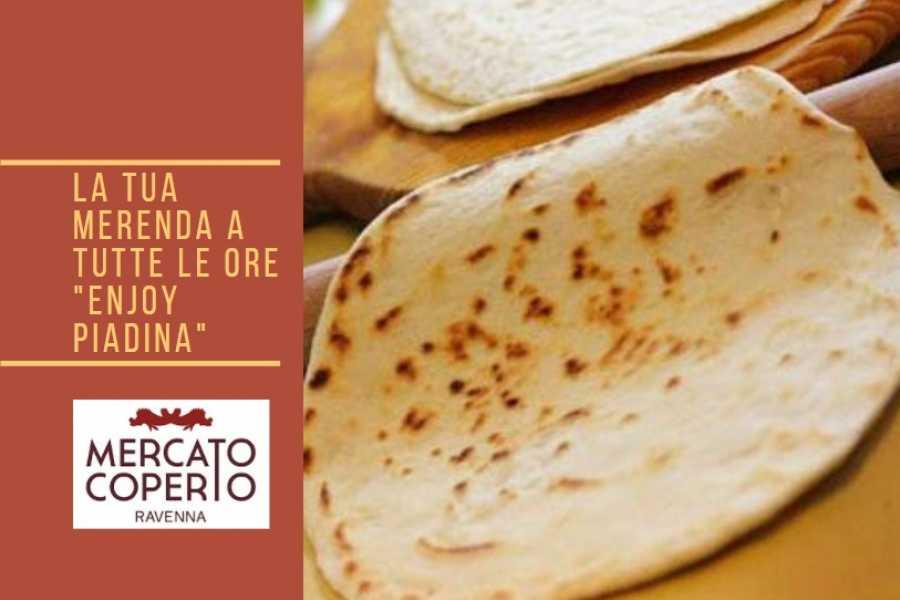 "Ravenna Incoming Convention & Visitors Bureau La tua merenda a tutte le ore ""Enjoy Piadina"""