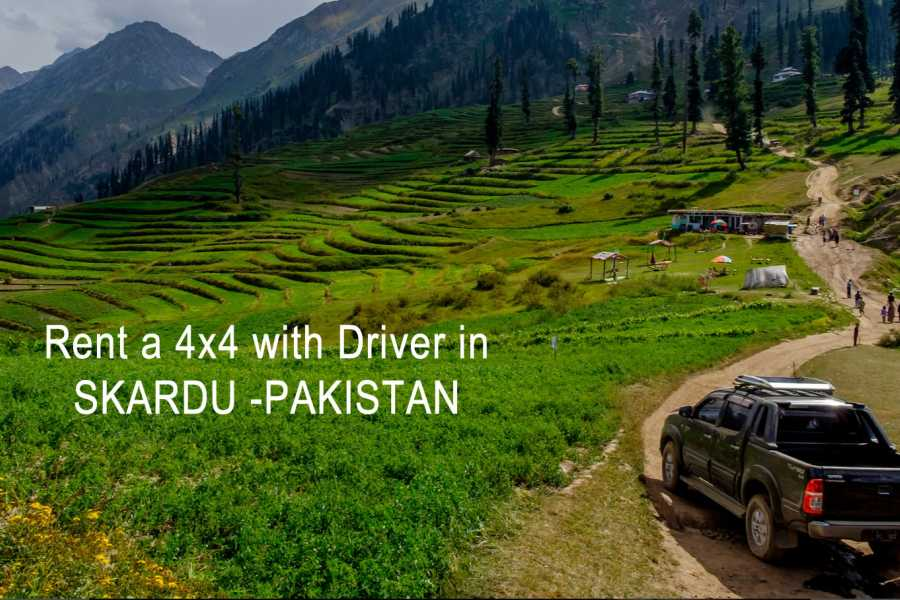 Last Second Group Ltd. RENT A 4X4 WITH DRIVER IN SKARDU - PAKISTAN
