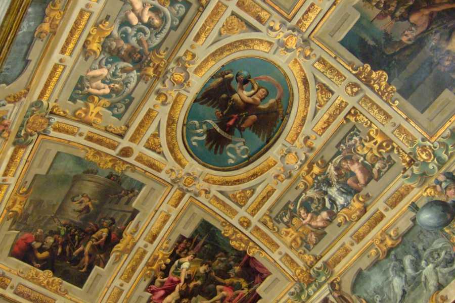 Modenatur Visite tematiche Sale storiche: NICOLO' DELL'ABATE NELLA SALA DEL FUOCO